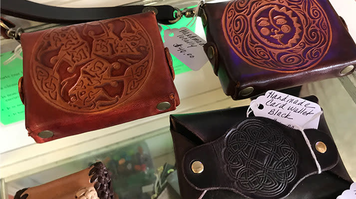 Leather Wallets by Jimmy Ramsey Designs