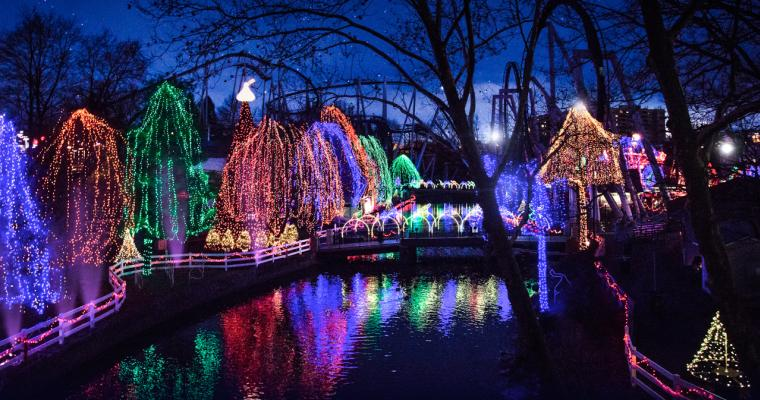 Christmas Candylane at Hersheypark PA