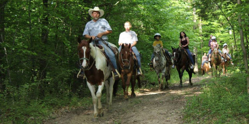 Grandpa Jeff's Trail Ride