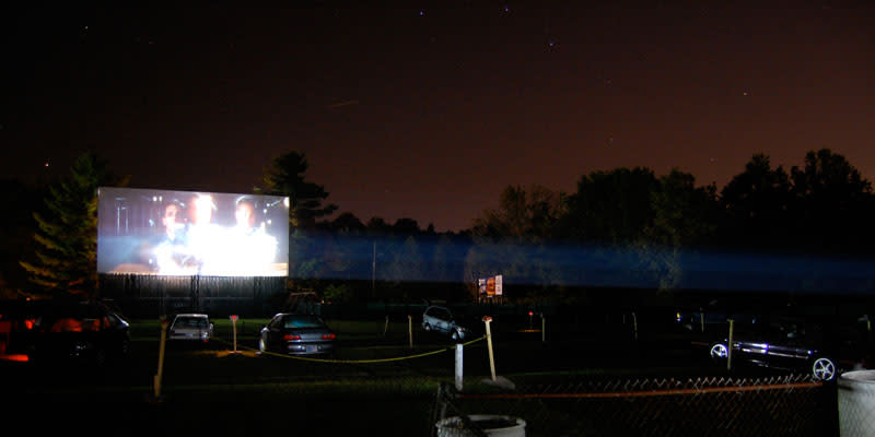 Centerbrook Drive In is good old-fashioned fun with outdoor movies, concessions, a play area and more.