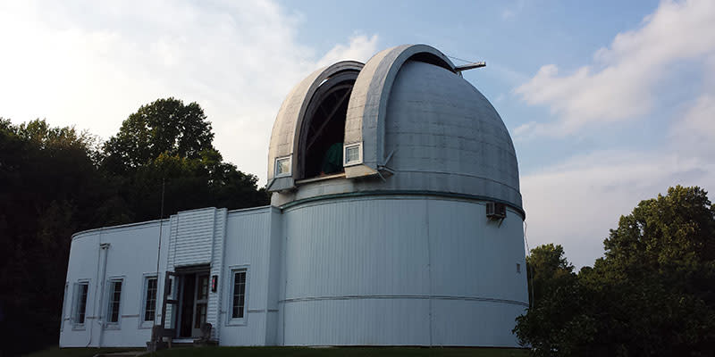 The historic, NASA-affiliated Link Observatory is open to the public three times each month.