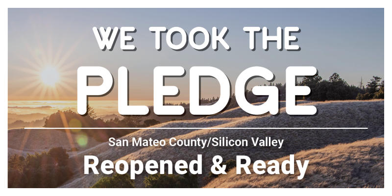 We took the Pledge Sticker