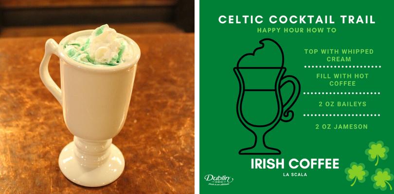 Irish Coffee Happy Hour How To