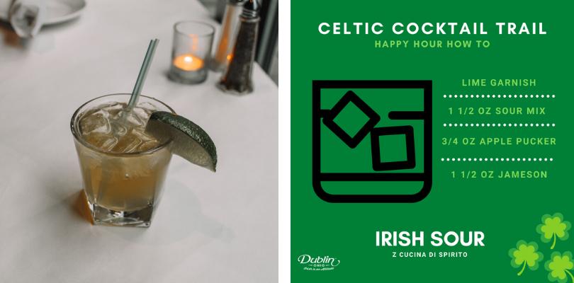 Z Cucina Celtic Cocktail