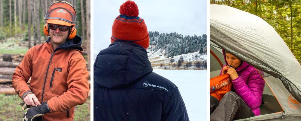Stay dry and warm in coats from Steamboat Springs brands: Big Agnes and BAP