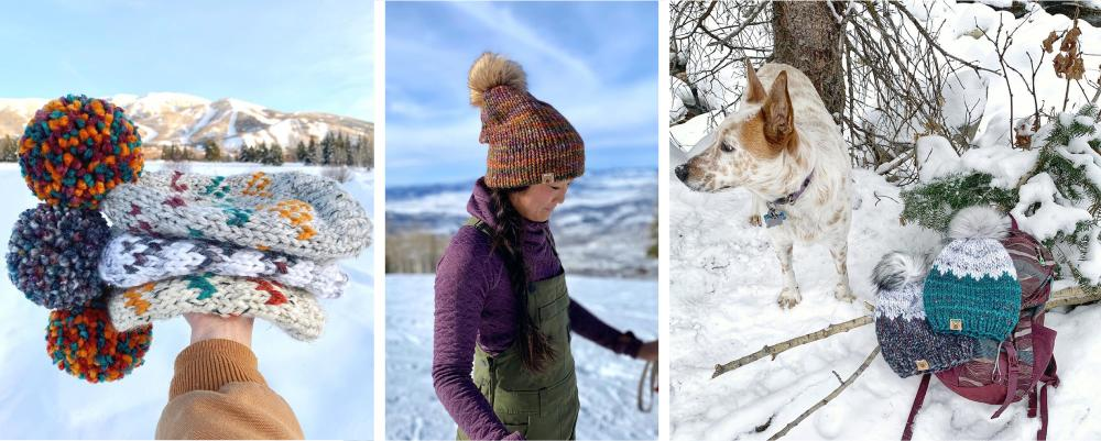 Locally made in Steamboat, one-of-a-kind wool hats from Smeeny Beanies