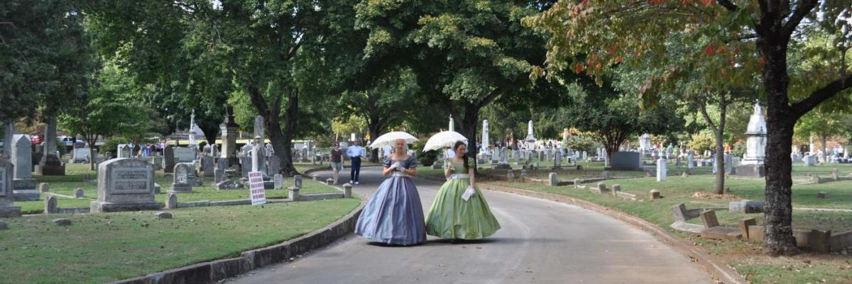 maple hill cemetery stroll