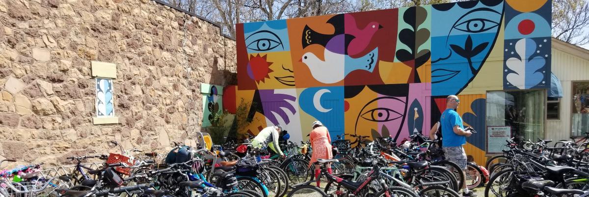 Migration Mural in Boulder