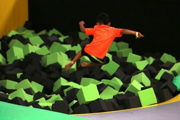 Get Air Foam Pit