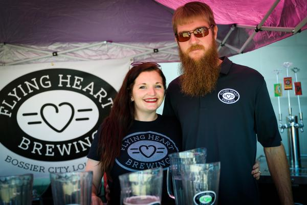 Brewers at Louisiana Winter Beer Festival