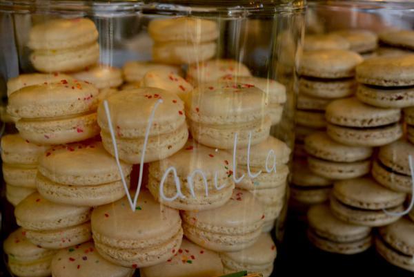 Noisette desserts by Melanie Griffin