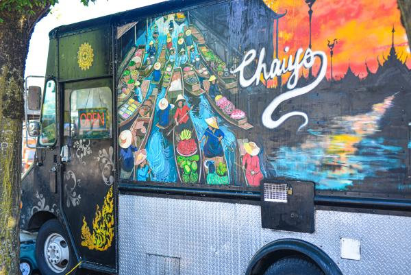 Chaiyo Thai Food Truck by Melanie Griffin