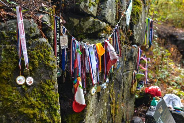 Pre's Rock Memorial by Melanie Griffin