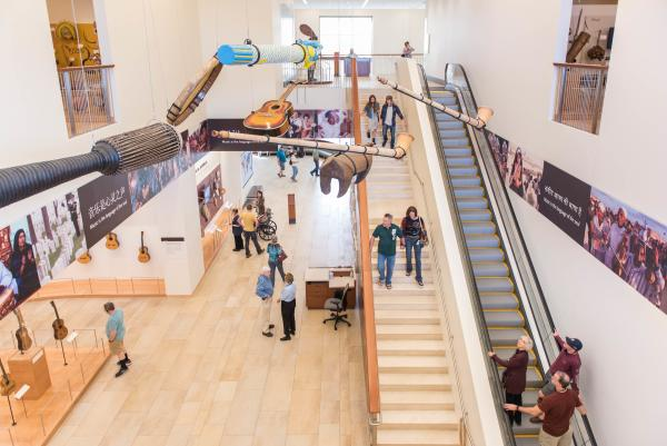 Guests Tour the Musical Instrument Museum - MIM