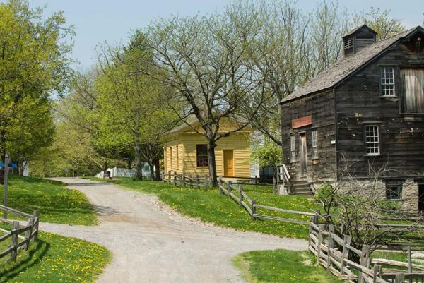 Historic Buildings at Genesee Country Village and Museum