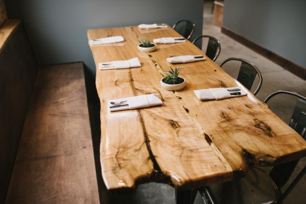 Junk Ditch Brewing Company Table - Fort Wayne, IN