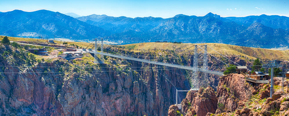 Royal Gorge view of bridge