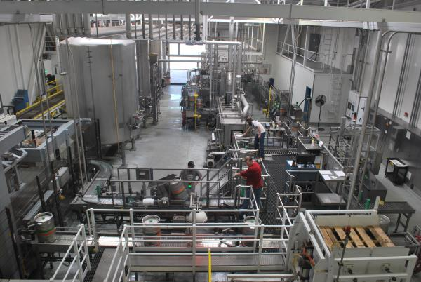 Sierra Nevada Brewery Bottling Facility on Tour from Sacramento