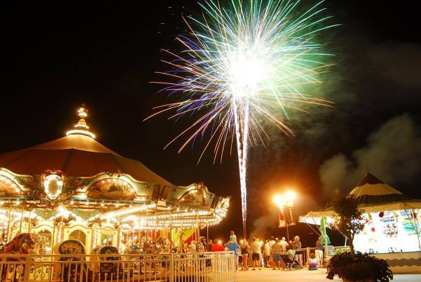 Barefoot Landing Fireworks