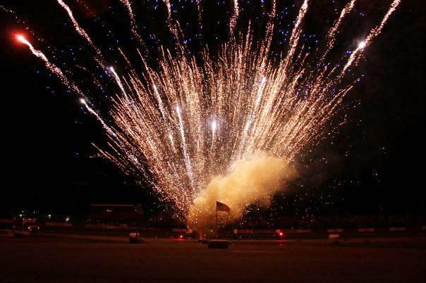 Rockford Speedway fireworks