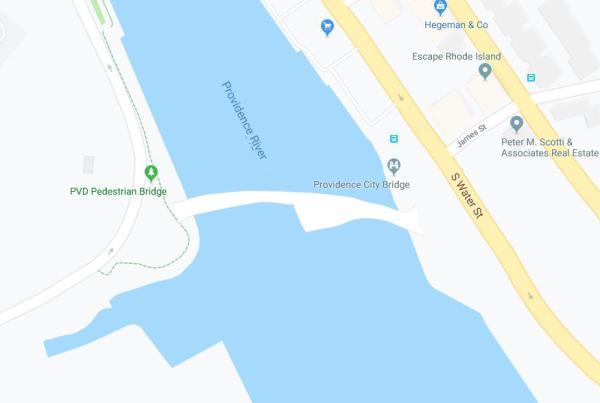 Pedestrian Bridge Map