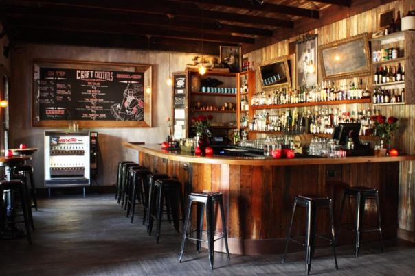 The Blackheart whiskey bar interior
