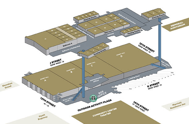 Convention Center Expansion Overview Map