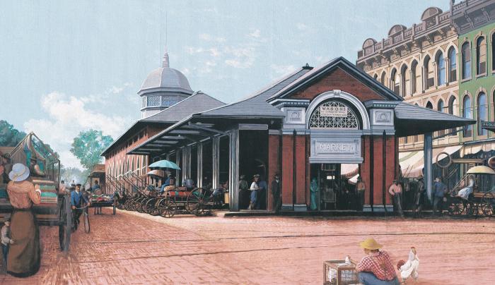 Market House Mural