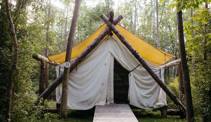 Tent Exterior - Front