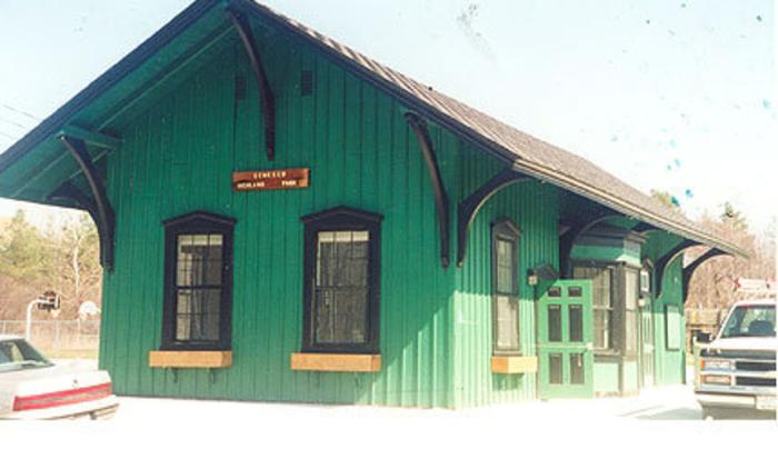 Erie Depot in Highland Park