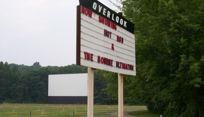 Overlook - sign