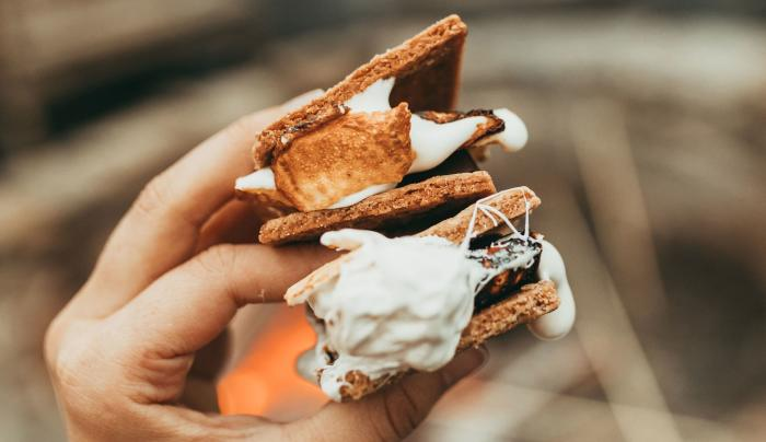 Complimentary Artisanal S'mores