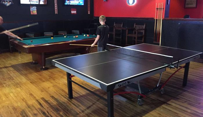 Ping Pong, Pool and Darts