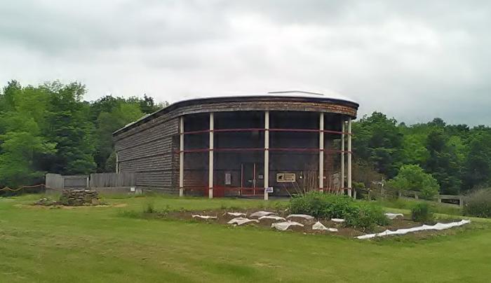 Iroquois Indian Museum exterior