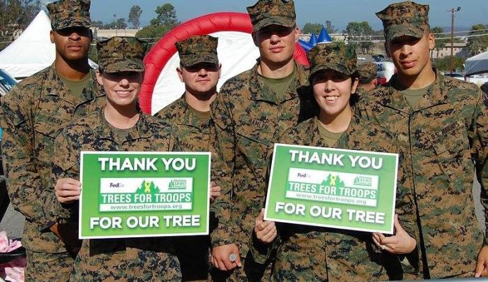 Ellms Family Farm Trees for Troops