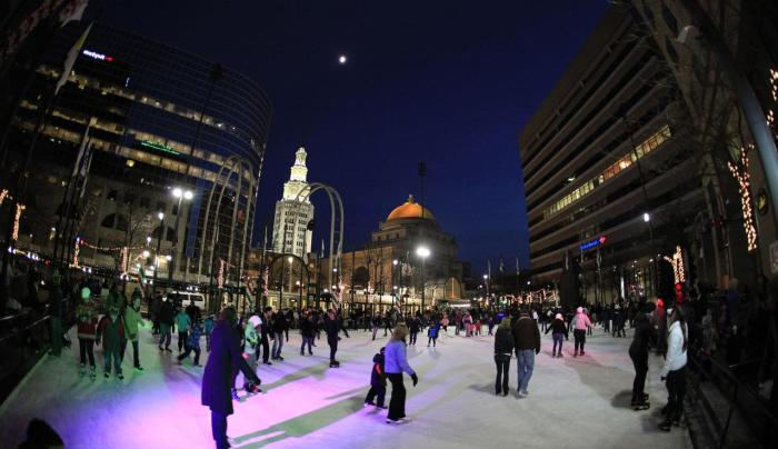 Rotary Rink at Fountain Plaza