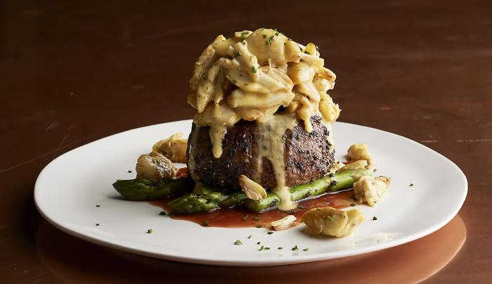 Filet with Colossal Crab Oscar