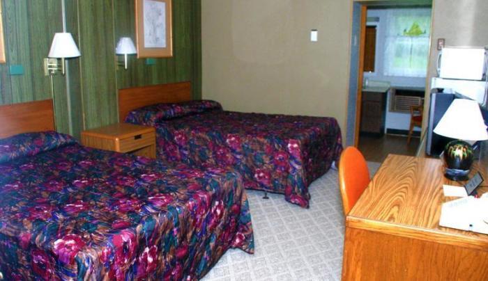 Davidson's Motel room