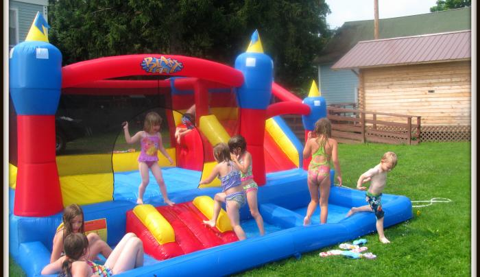Bounce House Rentals, Parties and Events at Tall Pines
