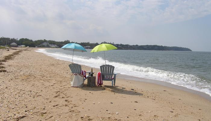 Shorecrest Beach on LI Sound