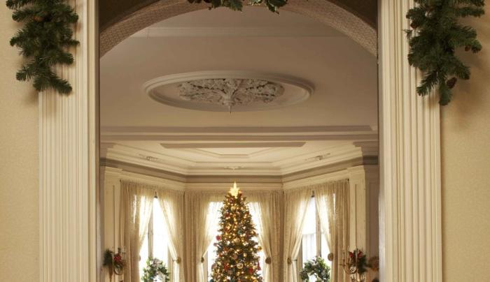 Locust Grove Estate Drawing Room Christmas