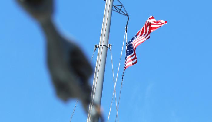 Flag on the Mast