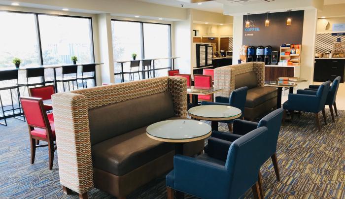 2019 Holiday Inn Express Fishkill Interior Lobby
