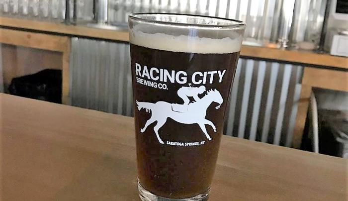 Racing City Brewing Beer Glass