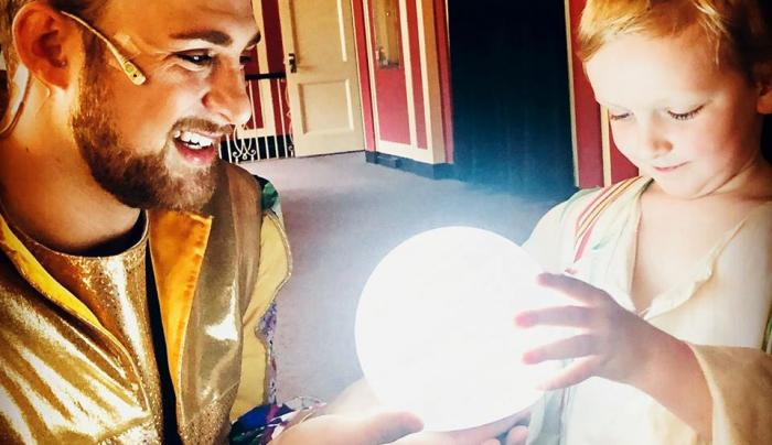 Home Made Theater Crystal Ball