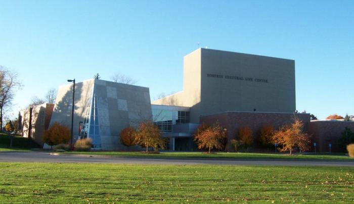 Roberts Cultural Life Center Entrance