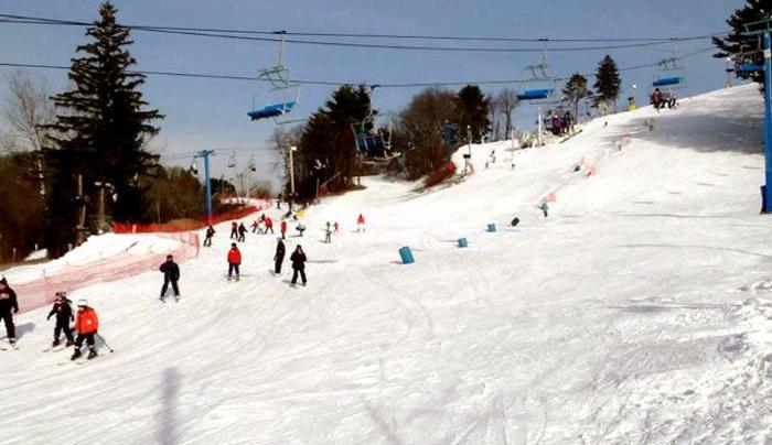 Thunder Ridge Ski Area - Photo by Nick Madeo