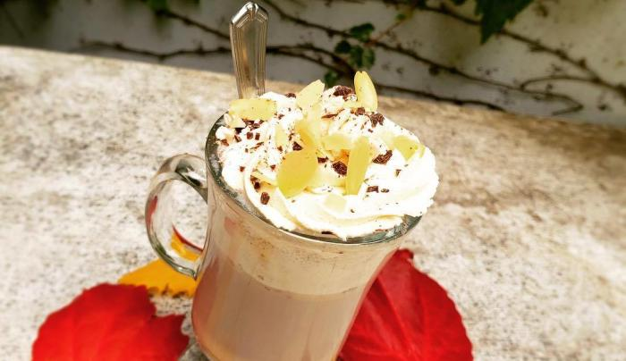 Toasted Almond Hot Chocolate