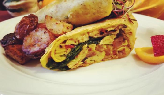 BYO Breakfast Burrito