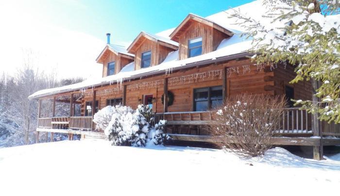 Winter at Mountain Horse Farm